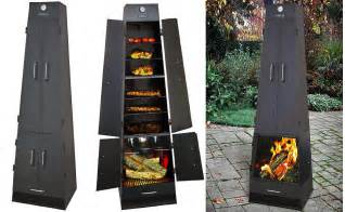 outdoor fireplace smoker quadque charcoal grill and outdoor fireplace fresh home