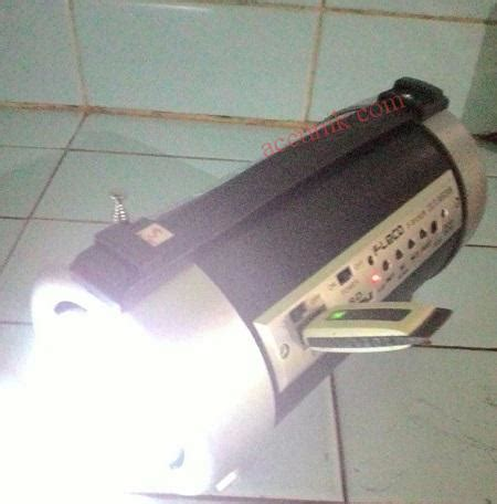 Senter Radio jual speaker portable tabung fleco912 senter fm radio