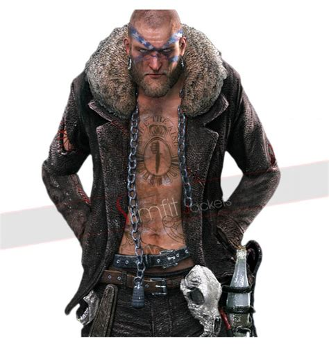 motorcycle biker jacket dead rising 3 biker boss gang motorcycle fur jacket