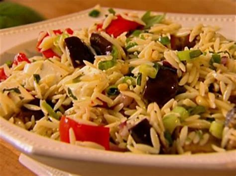 ina garten vegetables orzo with roasted vegetables video food network