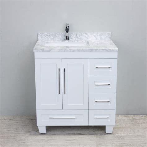 30 Inch White Bathroom Vanity by White 30 Inch Bathroom Vanity Diedeutschlehrer