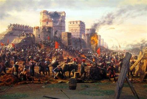 in 1453 the ottomans conquered which important christian city byzantine empire timeline timetoast timelines