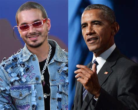 j balvin obama barack obama se declara fan de j balvin y el reggaet 243 n e