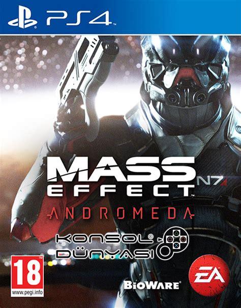 Ps4 Mass Effect Andromeda 1 ps4 mass effect andromeda konsold 252 nyasi en ucuz