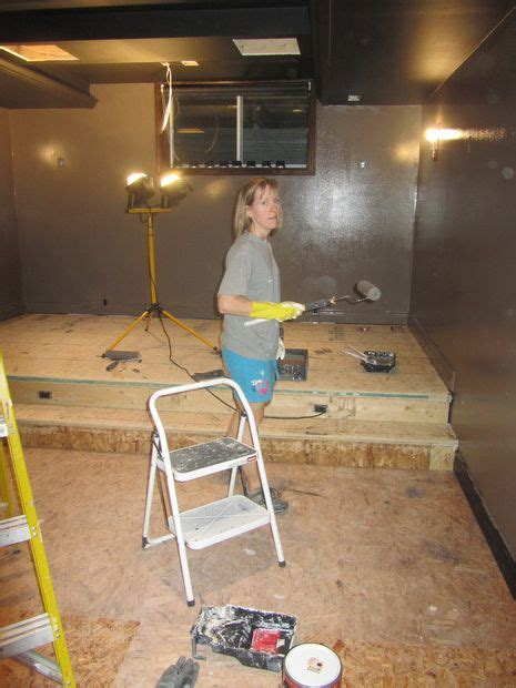 build  riser  home theater seating