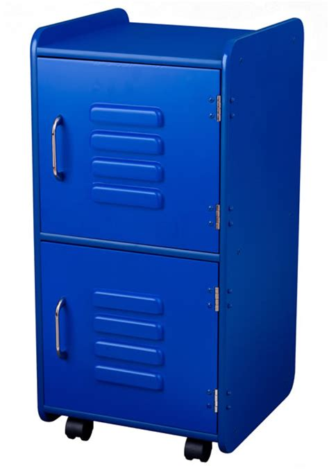 bedroom locker bedroom storage locker in blue
