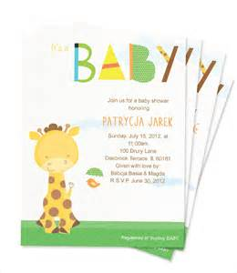 9 baby shower card template free sles exles formats