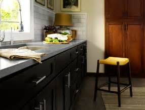 black kitchen cabinets dayton door style cliqstudios dark kitchen cabinets houzz