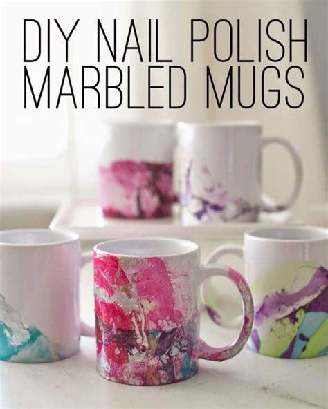 amazing diy coffee mugs diy craft projects 31 incredibly cool diy crafts using nail polish diy nail