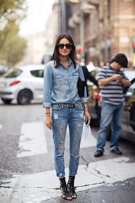 Would You Wear An All Denim Like On Project Runway Last by Denim Dress And The Look Your