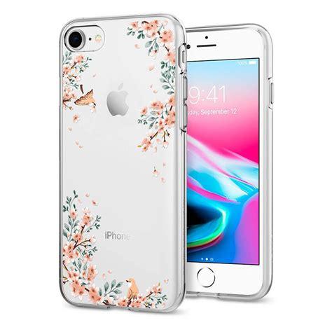 Spigen Iphone 8 Iphone 7 Shell 042cs20307 spigen 174 liquid 054cs22290 iphone 8 7 blossom spaceboy
