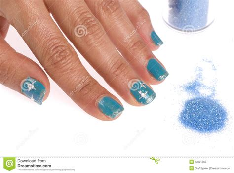 Decorated Nails by Decorated Nails Royalty Free Stock Photo Image 23801565