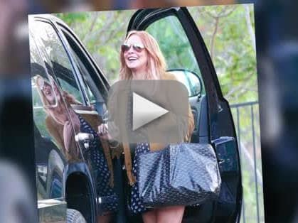 Lindsay Leaves Rehab by Lindsay Lohan Out Of Rehab Can She Stay Clean The