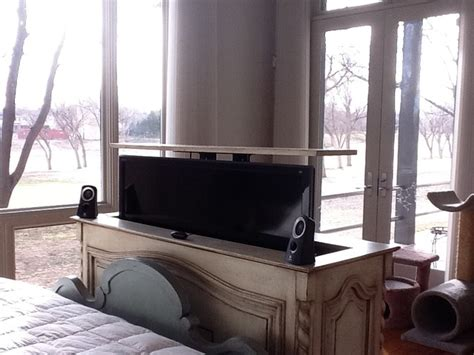 tv lift cabinet foot of bed end of bed tv lift cabinet foot of the bed tv lift