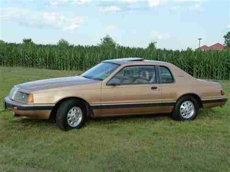 auto air conditioning service 1984 ford thunderbird engine control buy used ford thunderbird 1984 turbo coupe in glenside pennsylvania united states for us