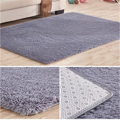 Rug Slips On Carpet by Soft Tufted Microfiber Bathroom Home Mat Rug Non Slip Back