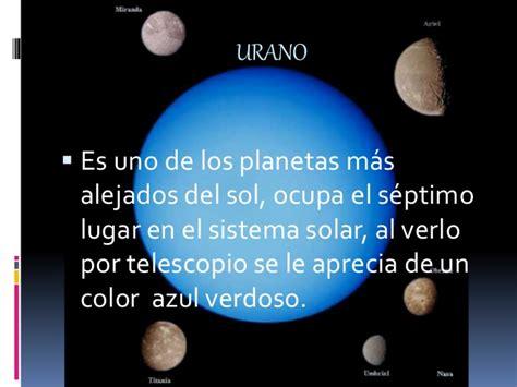 frases de urano el sistema solar tics
