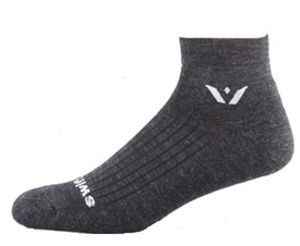 sock coal swiftwick one pursuit merino socks coal at intheholegolf