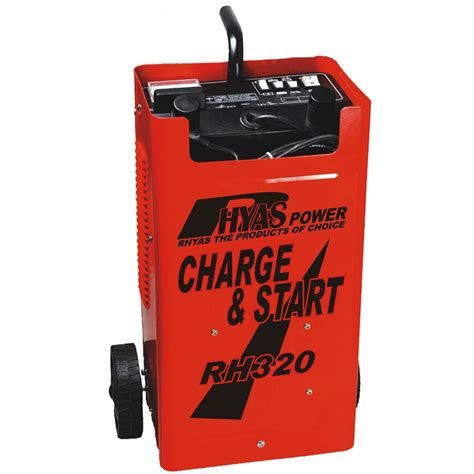 jump start with battery charger rhyas jump start starter charger battery 12v 24v car truck
