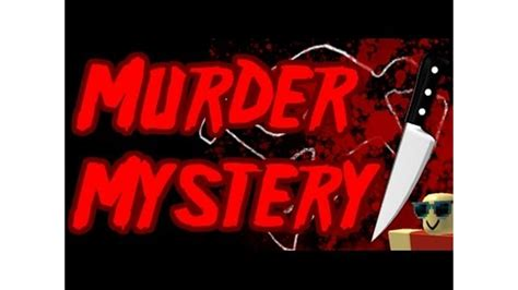 roblox thumbnail murder murder mystery classic roblox