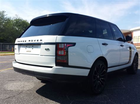 Range Rover Limited Editions by 2015 Range Rover Supercharged Black Limited Edition