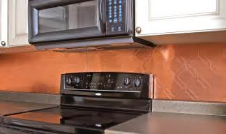 Copper Backsplash Tiles For Kitchen Copper Backsplash Tiles With Contemporary With 2d Design Of Copper Backsplash Tiles For