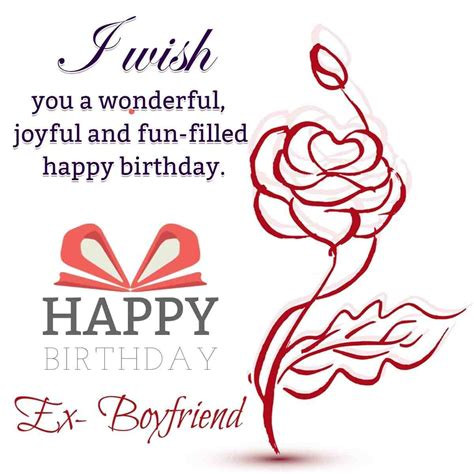 Wish Ex Happy Birthday Quotes About Former Lovers Quotesgram Ex Boyfriends