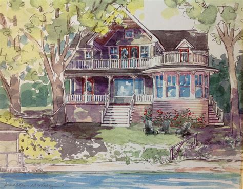 watercolor house painting watercolor home pinterest one step watercolor house paintings kathleen mcnally