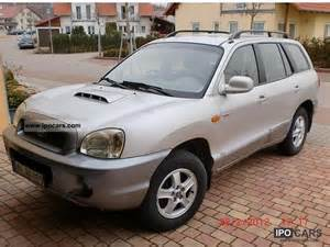 2003 hyundai santa fe 2 0 crdi 4wd gls car photo and specs