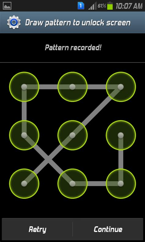 android pattern lock screen source code tec tricks the tecworld how to set a screen pattern lock