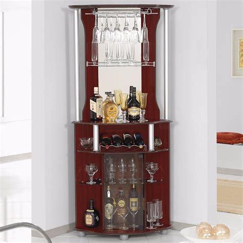 corner home bar liquor cabinet pub furniture wine bottle