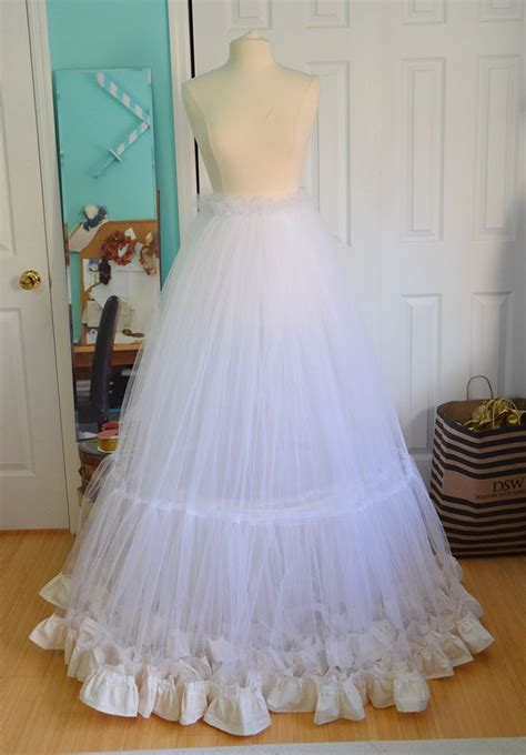 organza petticoat tutorial making a ruffly petticoat blue fabric girls and fabrics