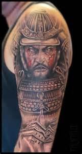 tatuagem ombro real 237 sticas samurai por mumia tattoo