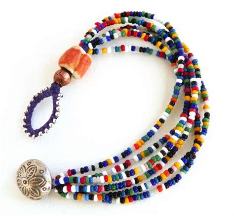 bead braclets erin siegel jewelry vintage seed bead bracelets