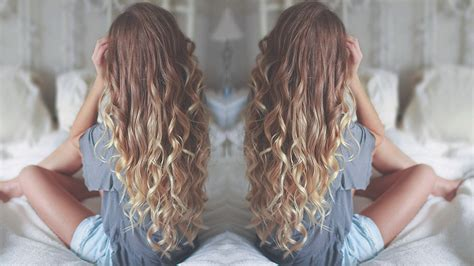 Lob With Soft Curl Hairstyle by No Heat Curls Tutorial