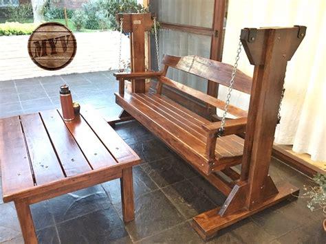 sillon hamaca de madera hamaca sill 243 n de jard 237 n en madera maciza 15 950 00 en