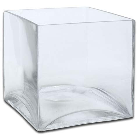 acrylic cubic square vases 4 quot x 4 quot x 4 quot ohah wedding
