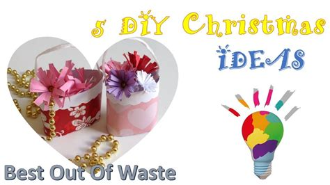 diy crafts best out of waste ideas 5 minute