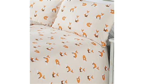 Double Duvet Covers Asda George Home Fox Print Duvet Bedding George At Asda