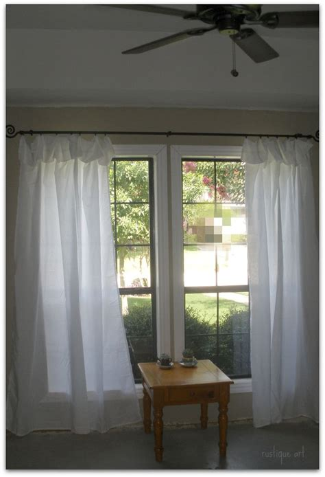 no sew curtains from sheets diy no sew curtains diy pinterest