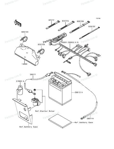 kawasaki bayou 220 electrical diagram car interior design