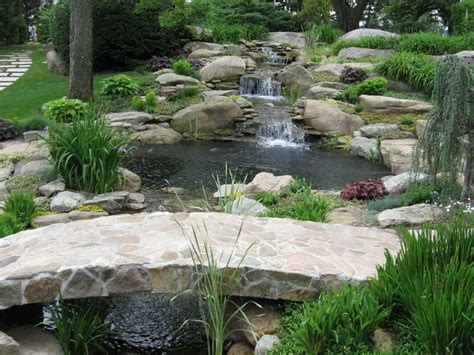 Backyard Pond With Waterfall by Decoration Decorative Waterfalls Design For Landscaping