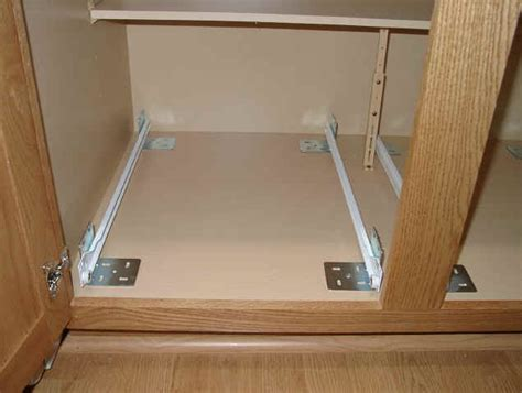 kitchen cabinet shelf slides diy pull out shelves for kitchen cabinets roselawnlutheran