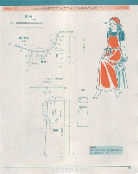 japanese pattern drafting books 2989 best aprons images on pinterest aprons apron and
