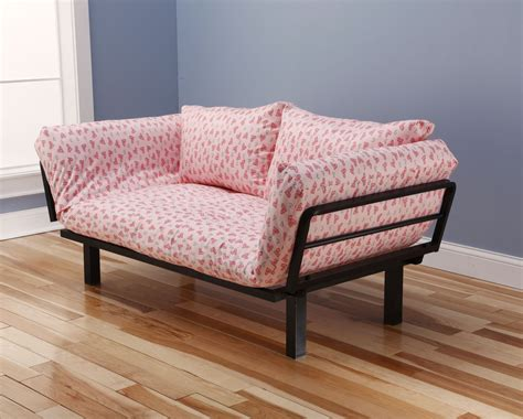 futon lounger chair spacely futon daybed lounger with mattress sweet heart by