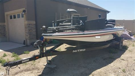 nitro boats utah 2007 used nitro 591 bass boat for sale 19 500 lehi