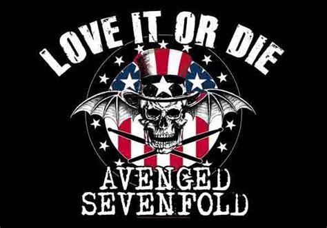 Kaos Avenged Sevenfold Logo 02 the gipster