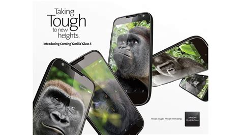 mobile phones with gorilla glass phones are going to get tougher this year thanks to