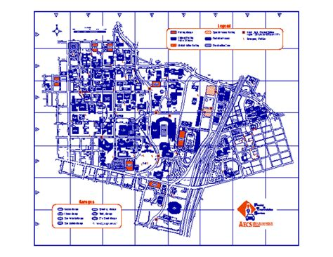 map of university of texas ut map images
