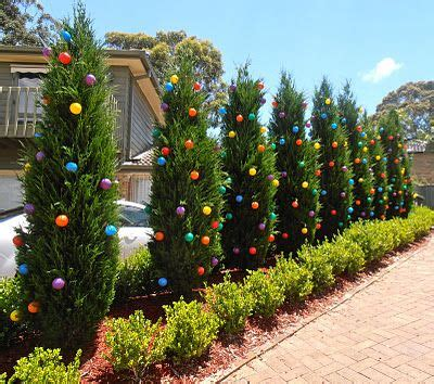 outdoor tree decorations 1000 ideas about outdoor christmas trees on pinterest